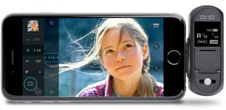 сенсорное управление DxO ONE 20.2MP с экрана iPhone